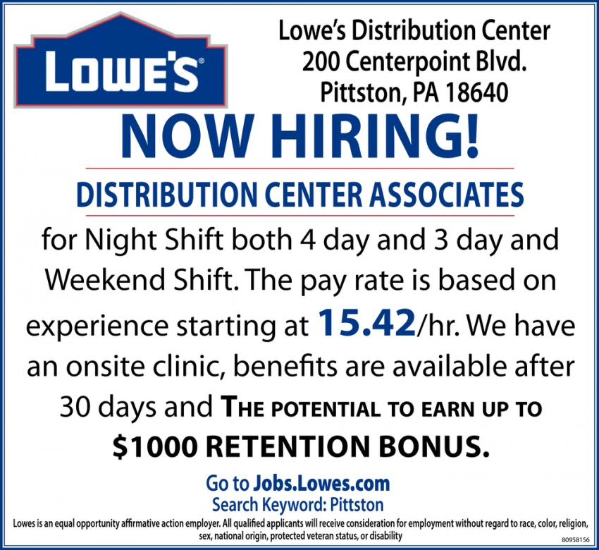 Distribution Center Associates