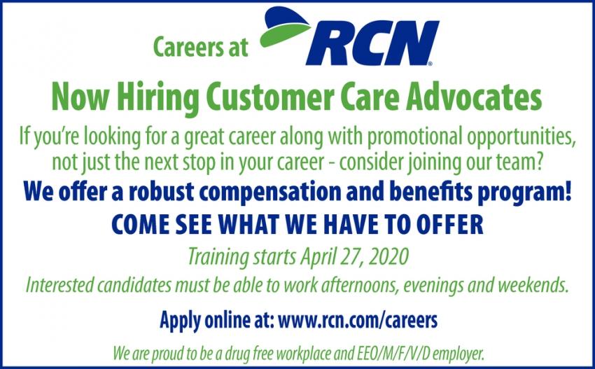 Customer Care Advocates